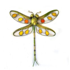 Green Glitter Dragonfly Small