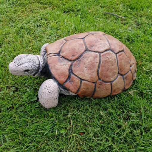 Stone Tortoise Garden Ornament Sculpture Small