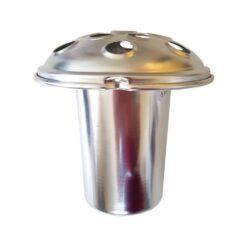 Polished Aluninium Large Vase