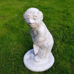 Concrete Garden Cricketer Batsman