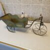 Tricycle Cart Plant Stand Bike Bicycle Decorative Planter