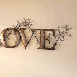 Love Diamond Wall Art