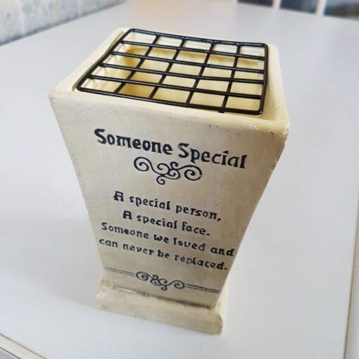 Someone Special Memorial Vase.