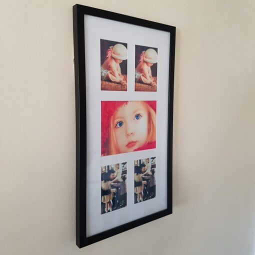 Wall Hanging 5 Picture Photo Frame