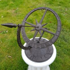 Bronze Globe Armillary Sundial