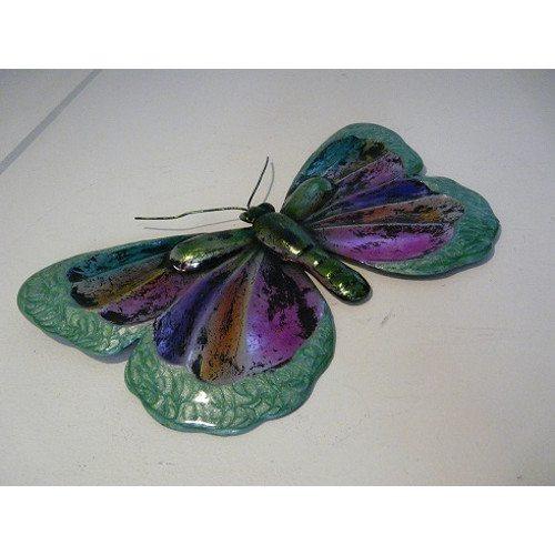 Green Glitter Butterfly
