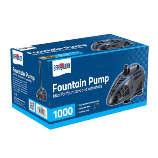 Bermuda Water Fountain Pump 1000 LPH
