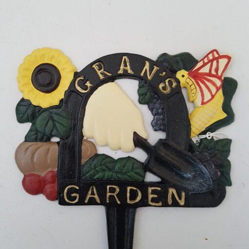 CAST IRON - GRAN'S GARDEN SPIKE