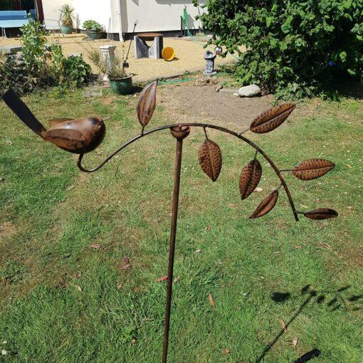 Robin on a Branch 60cm Wind Spinner