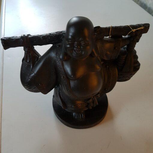 Dark Brown Water Carrier Buddha
