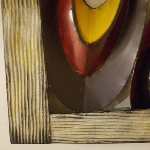 Mussel Frame Metal Wall Art