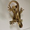 Solid Brass Large Lizard Door Knocker