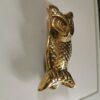 Solid Brass Large Owl Design Door Knocker