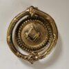 Solid Brass Masonic Design Door Knocker