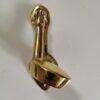 Solid Brass Golf Club and Ball Design Door Knocker