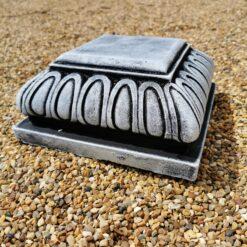 Concrete Square Small Plinth In Black and White