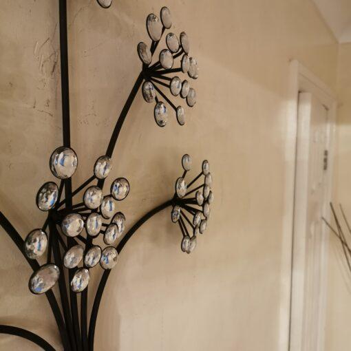 Grapes and Vino Wine Metal Wall Art