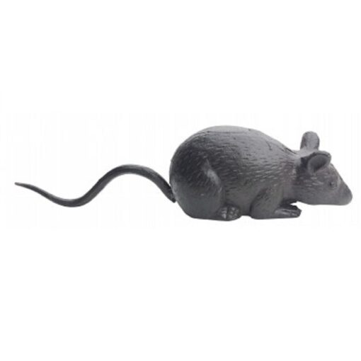Cast Iron Long Tailed Mouse Door Stop