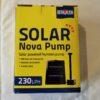 Nova Solar Powered Fountain Pump 230lph
