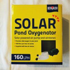 Bermuda Solar Powered Pond Oxygenator