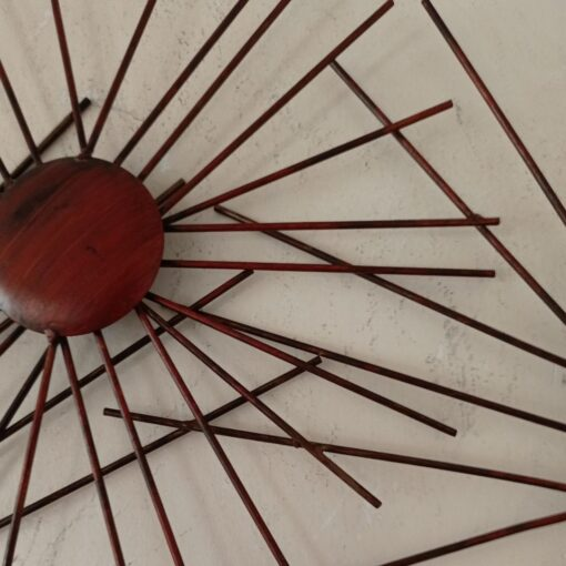 Metal Wall Art - Orange Sea Urchins