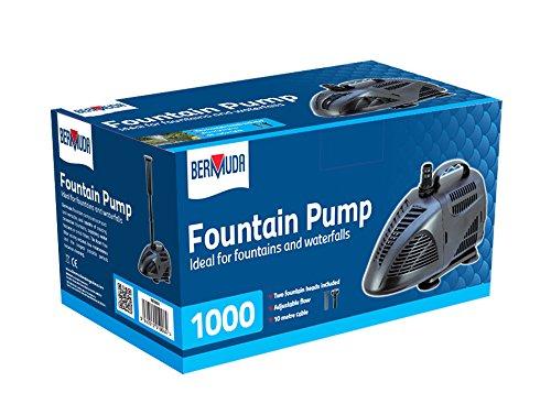 Bermuda 1000 Pond Fountain Pump