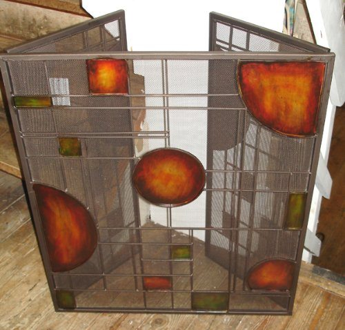 Contemporary Autumn Abstract Fire Screen / Fire Guard, Fantastic gift!