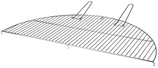 Esschert Design Metal 80cm Large Semi Circle Grate/Grill for Fire Bowls