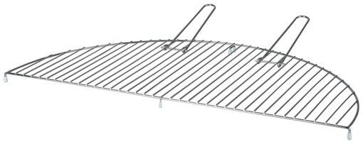 Esschert Design Metal 70cm Large Semi Circle Grate/Grill for Fire Bowls