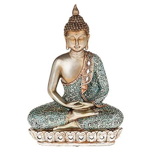 Zen Blue Buddha Extra Large - 31CM X 22CM