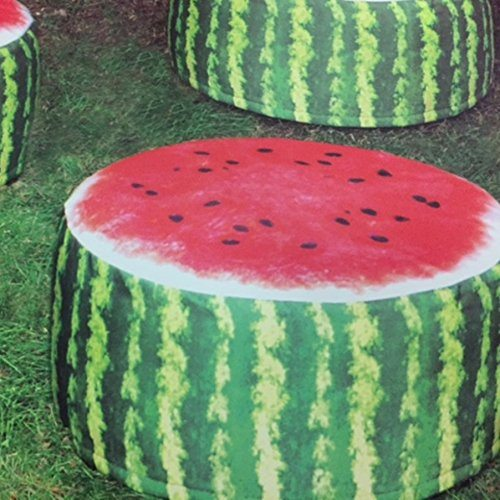 Outdoor Pouffe Garden Seat Melon Design