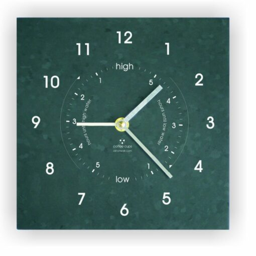 Recycled Eco Time and Tide Clock