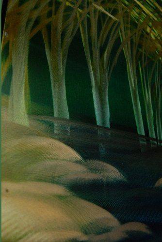 Woodland Stream Panelled Wall Art